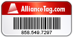 Alliance Asset Tags